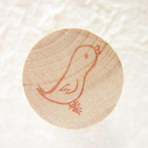 小鳥のはんこ