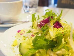 白菜のサラダ写真
